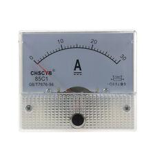 85C1 Analog Current Panel Meter DC 30A AMP Ammeter Q4C6