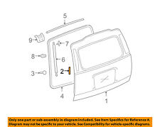 GM OEM-Lift Gate Tape 22782015