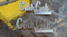 Dodge D100 Club Cab Front Fender Emblems 73 74 75 76 77