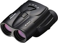 Nikon Sportstar Zoom SPZ8-24 x 25 BK Black Zoom Binoculars New in Box