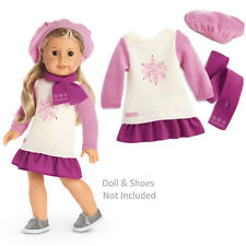 "American Girl TM SNOW GOOD TO SEE YOU OUTFIT for 18"" Dolls Winter Clothes NEW"