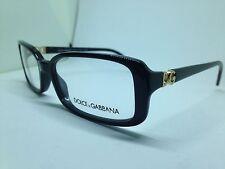 DOLCE e GABBANA occhiali da vista donna neri rettangolari woman glasses DG3092