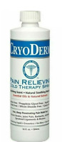 New Cryoderm Pain Relieving & Arthritis Cold Therapy 16oz. Spray - Refill