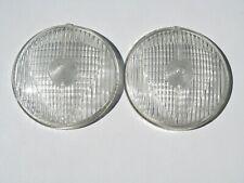 2 verre de phare antibrouillard MARCHAL 670 680  , Peugeot 203 403,Citroën ID DS