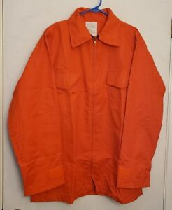 6 oz Nomex IIIA Wildland Fire Fighting Brush Shirt Barrier Wear 4052 Orange L