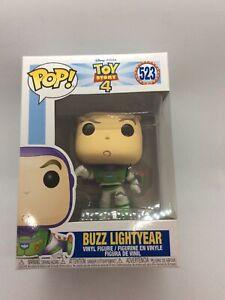 Funko Pop 523 Buzz Lightyear Toy Story 4 Mint Boxed New