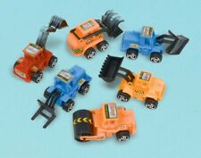 Construction Vehicle Pull Back Boys Child Birthday Party Favors 6 Pack
