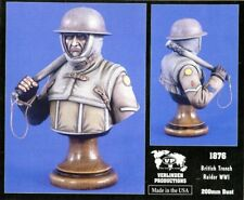 Verlinden Productions 200mm WWII British Trench Raider - Resin Bust Kit #1876