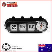 GMH Retro Capsule Manual Alarm Clock (Black)