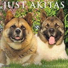 Just Akitas(dog breed calendar) 2021 Wall Calendar (Free Shipping)