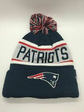 New England Patriots New Era Football Beanie Embroidered Knit Cap Sideline Hat