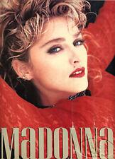 MADONNA 1985 Virgin Tour Concert Program Tour Book