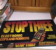 1979 Parker Bros #3500 STOP THIEF Electronic COPS & ROBBERS GAME 100% clean