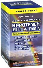Windmill Hi-Potency Multi-Vitamin Tablets Adult Chewable 60 Tablets (Pack of 2)