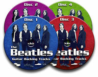 THE BEATLES STYLE ROCK POP GUITAR BACKING TRACKS COLLECTION AUDIO CD JAM TRAX