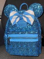 More details for disney cruise line loungefly sequin backpack teal brand new with tags
