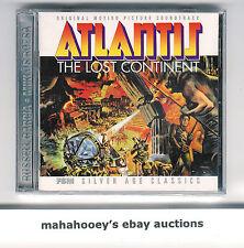 Atlantis: Lost Continent / The Power (Rozsa) FSM Ltd Ed 3,000 OOP CD Soundtrack