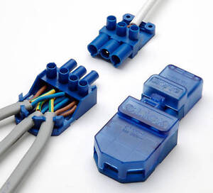 CT101C Click Flow 3 Pin Connector Pull Apart Junction Box (PACK OF 10)