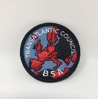 Boy Scout Patch Transatlantic Council BSA New NOS (17-2440)