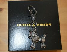 *** NEW BUTLER & WILSON POODLE KEY RING ***