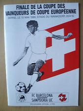 Los Ganadores Copa Europea de Copa Final 1989-Barcelona V UC Sampdoria
