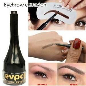 Waterproof Eyebrow Extensions Fiber Building Brow Hair Gel Tint Cream Pen 2021