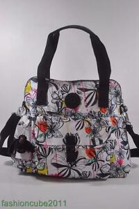 New With Tag Kipling PAHNEIRO Medium Handbag Shoulder Bag  - Palm Print