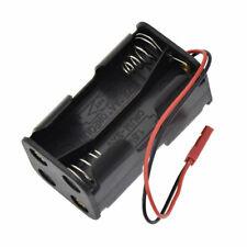 2 Pcs 6V Receiver Battery Pack Holder Case Box 4 x AA JST Connector