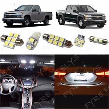 8x White LED lights interior package kit for 2004-2012 Chevy Colorado CC3W