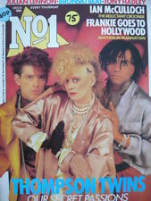 NO 1 (NUMBER ONE) MAGAZINE 8/12/84 - SPANDAU BALLET - THOMPSON TWINS