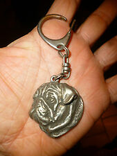 Porte Clé Chien Bull Dog ou Boxer  Key Chain ou Key ring