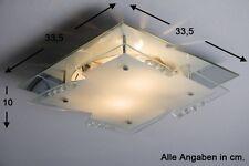Plafonnier Design Carré Lustre moderne Lampe à suspension Lampe de couloir 46442