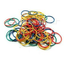 100 PCS Colorful Elastic Rubber Bands For Tattoo Gun Machine Supplies