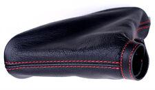 Alfa Romeo 159 BRERA cuffia freno a mano VERA PELLE NERA