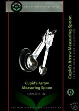NewlineNY Cupid Stainless Steel Measuring Spoons Set