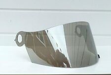 Aftermarket Silver Mirror Suomy Visor Chrome Shield Extreme Excel Spec 1R Apex