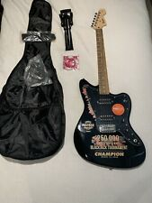 Squier By Fender Jazzmaster Black Guitar WON AT TOURNAMENT!!