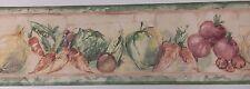 Vegetables- YORK Wallpaper Border, 5 yd pkg,  BK 7301-B (R-01)