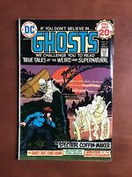Ghosts #31 (1974) 7.0 FN DC Key Issue Bronze Age Comic Book If You Don't Believe