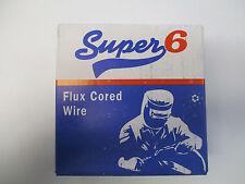 Super 6 Gasless Flux Cored 0.9 mm Mig Welding Wire - 0.45kg / 450g