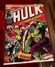 The Incredible Hulk #181 (Nov 1974, Marvel) Replica Near Mint + 1st Wolverine