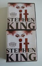 "Stephen King: ""IT"" - Unabridged Audio Book - 2 Volumes  35CDs Library Binding"