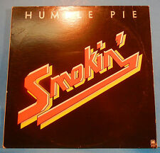 """HUMBLE PIE SMOKIN'  LP '72 ORIGINAL """"30 DAYS IN THE HOLE"""" PLAYS GREAT! VG/VG+!!B"""