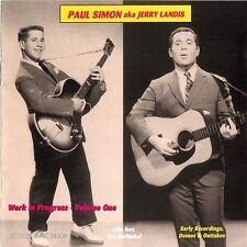 Paul Simon Aka Jerry Landis Work en Cours Vol.1 Nouveau CD / Scellé Art