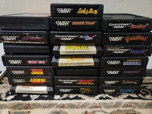 Coleco Colecovision Game Lot Clean Tested Pick Your Favs Combo S&H