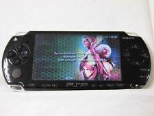 V2409 Sony PSP 2000 console Piano Black Handheld system English menu