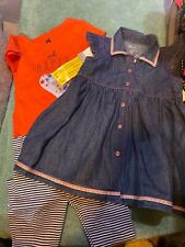 Baby Girl 12 Months 2 Outfits New With Tags