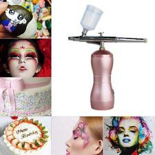 AirBrush Compressor Air brush Kit Water Spray Tattoo Nail Art Paint Gun Mini
