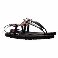 Rocket Dog Onella Journey Flip Flops Braided Sandals Black UK3 Girls Womens Teen
