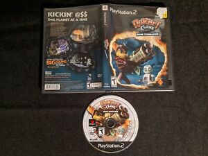 Ratchet and Clank Going Commando - Sony Playstation 2 PS2 - No Manual - Working